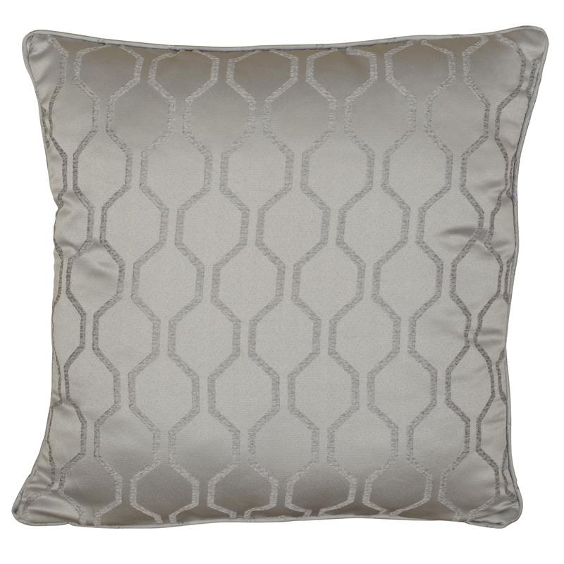 J Rosenthal Cushions And Throws Islington C/Cover Silver Picture