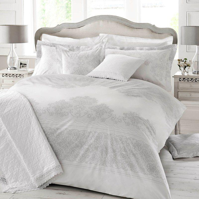 Ashley Wilde Bedding Holly Willoughby Iva Bedding Grey Picture
