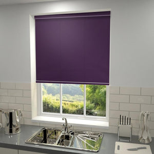 Kensington Plain Roller Blind Berry