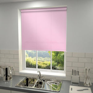 Kensington Plain Roller Blind Blush