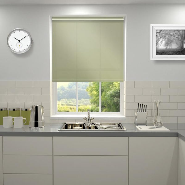 Kensington Plain Roller Blind Dove