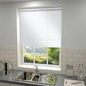 Kensington Plain Roller Blind Snow