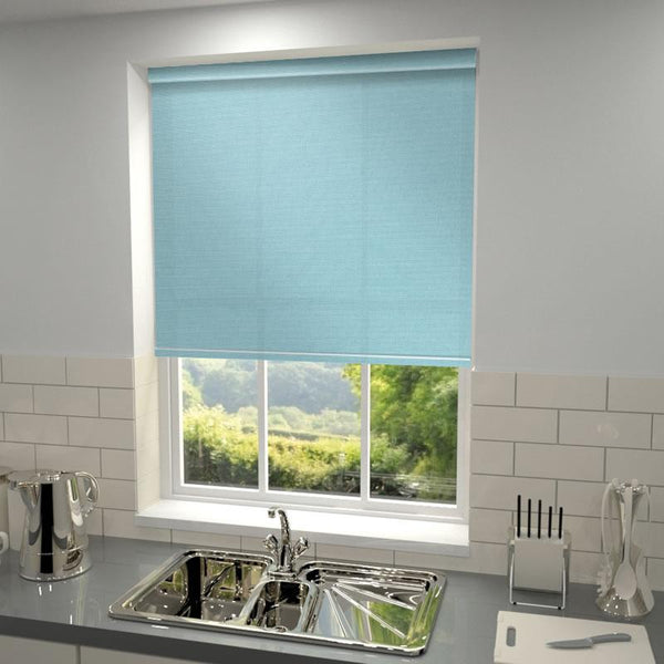 Kensington Plain Roller Blind Tiffany
