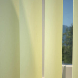 Kensington Plain Vertical Blind Butter