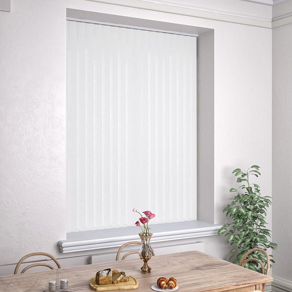 Kensington Plain Vertical Blind Paper