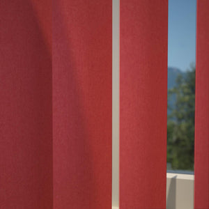 Kensington Plain Vertical Blind Scarlett