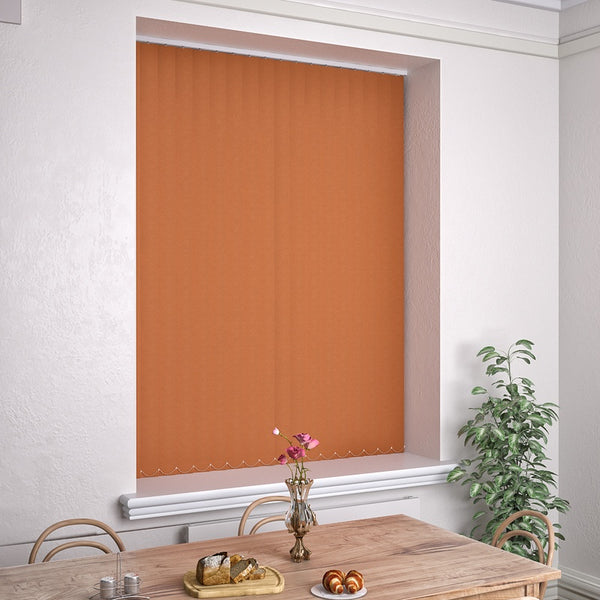 Kensington Plain Vertical Blind Tango
