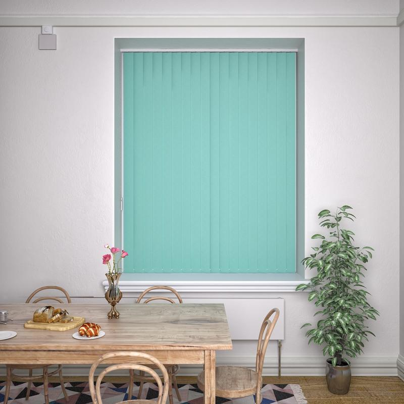 Decora Blinds Kensington Plain Vertical Blind Tiffany Picture