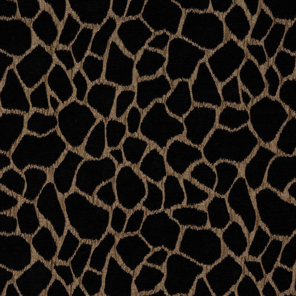 Kenya Curtain Fabric Bronze