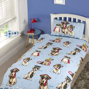 Doggies Bedding Blue