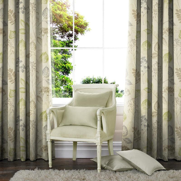 Knowsley Made to Measure Curtains Green