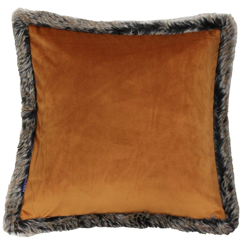 Riva Cushions And Throws Kiruna C/cover Rust Picture