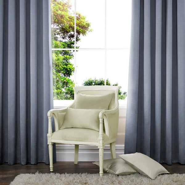 Verde Made to Measure Curtains Navy