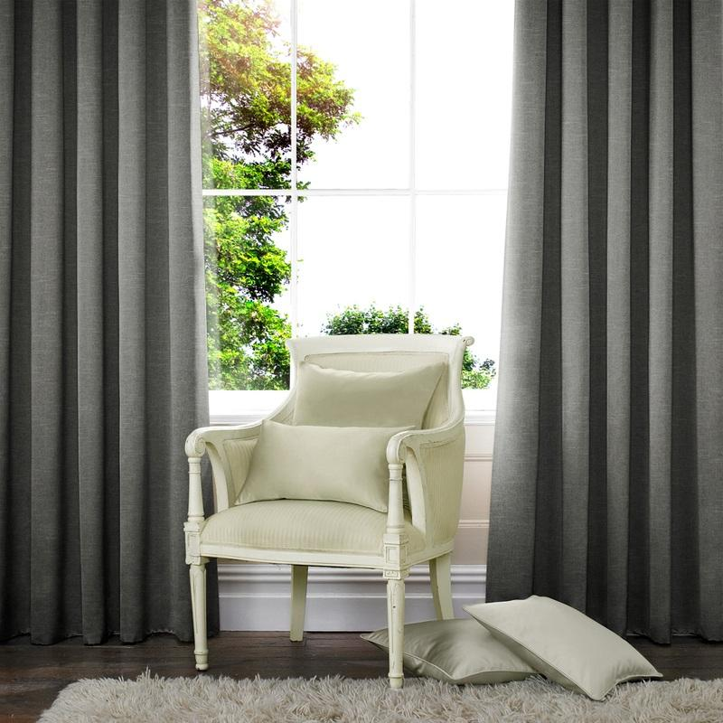 Illuminate Verde Made to Measure Curtains Slate Picture