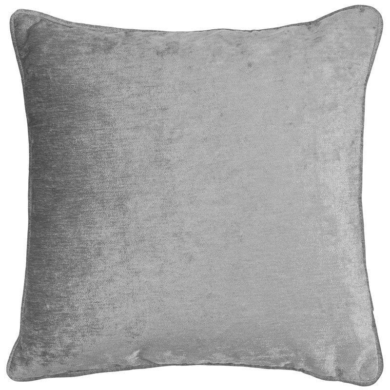 Langley Cushion Cover 17 x 17 Silver