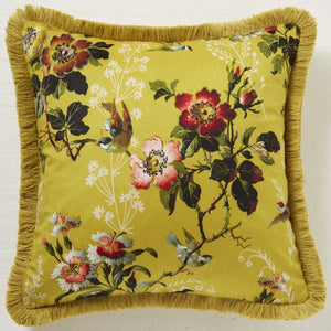 Oasis - Leighton Filled Cushion Ochre