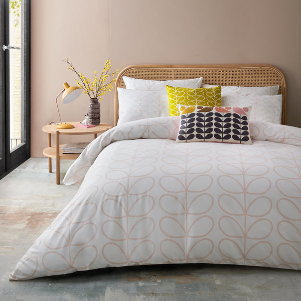 Orla Kiely - Linear Stem Bedding Cloud Pink