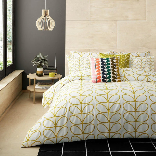 Orla Kiely - Linear Stem Printed Bedding Dandelion