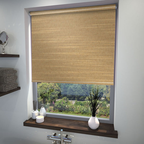 Sandbag Roller Blind Hessian