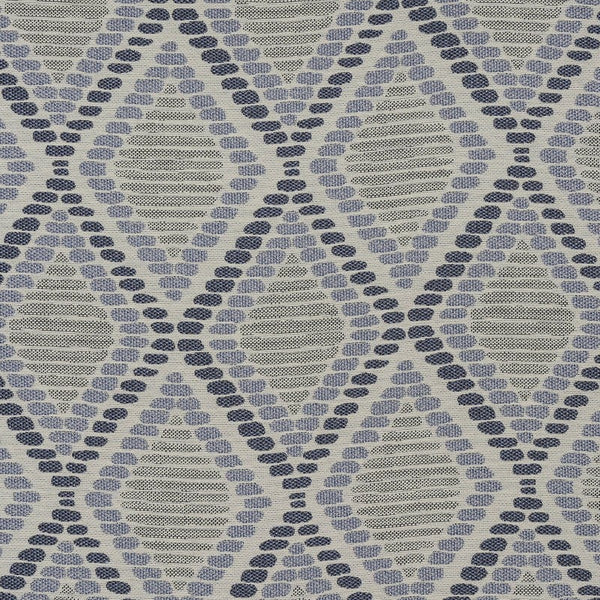 Lisbon Curtain Fabric Indigo