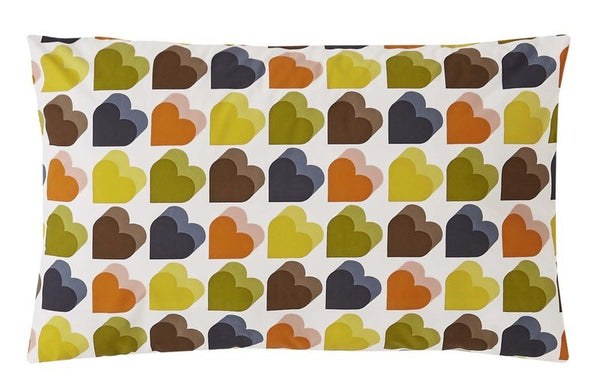 Orla Kiely - Love Hearts Bedding Collection Multi
