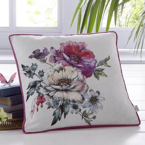 Oasis - Luna Filled Cushion Ivory
