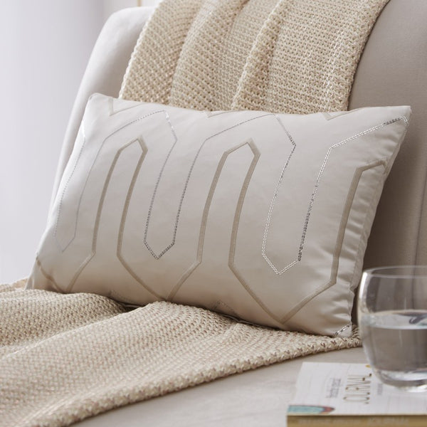 Tess Daly Lux Bedding Set Natural