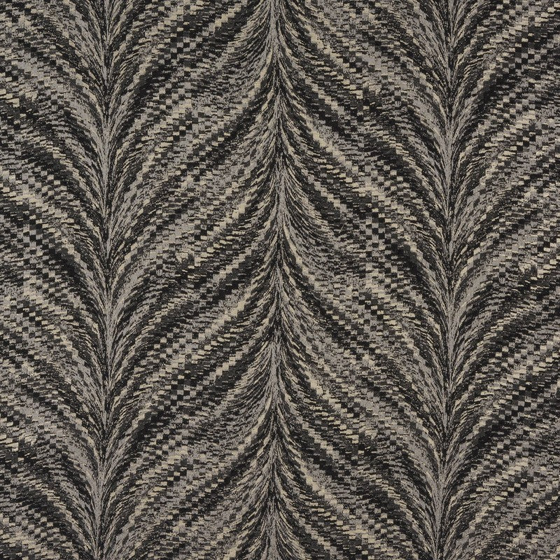 Fryetts Fabrics Luxor Curtain Fabric Charcoal Picture