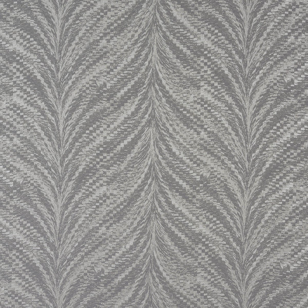 Luxor Curtain Fabric Silver