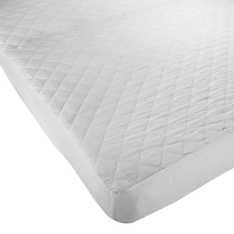 SW Living  Luxury Polycotton Quilted Mattress Protector