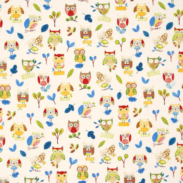 Ollie Owl Roman Blind Paintbox