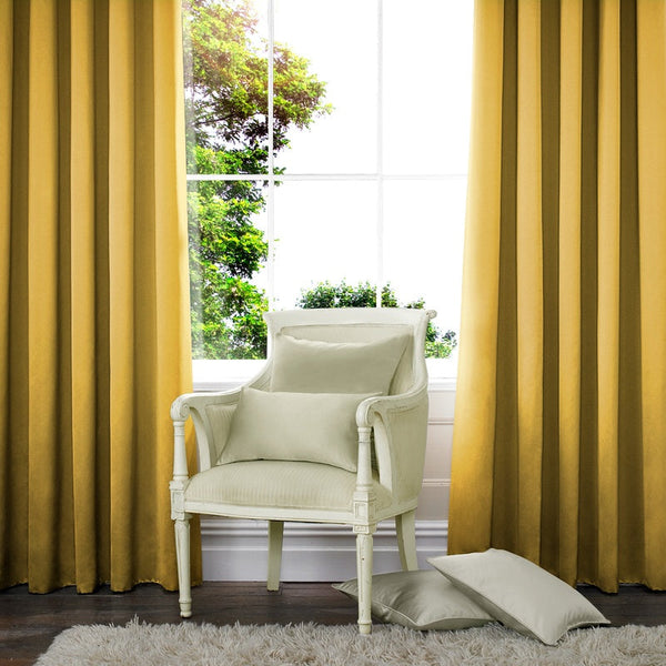 Satin Made to Measure Curtains Mimosa
