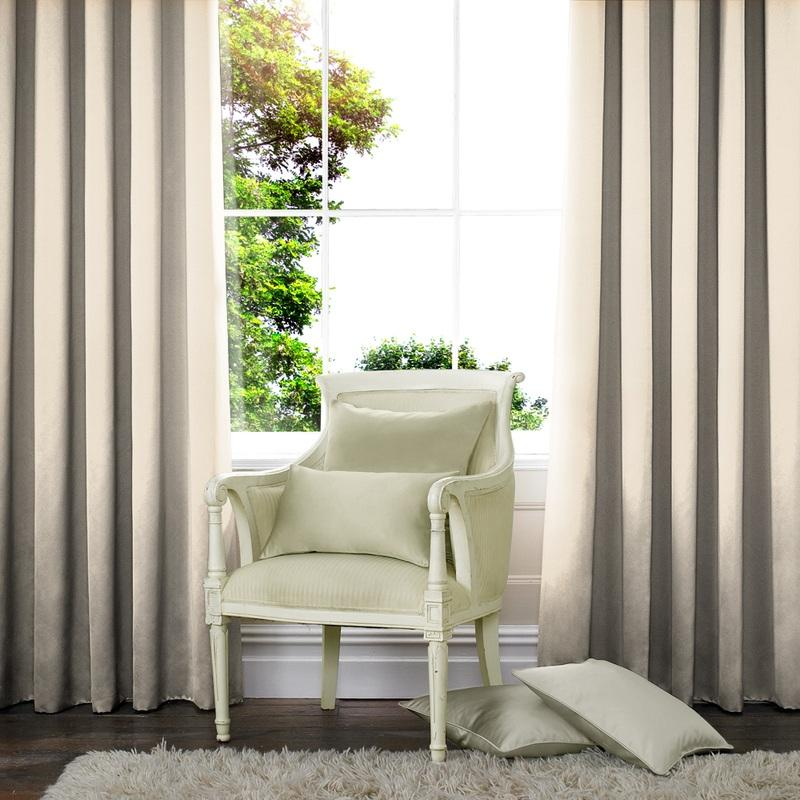 Illuminate Satin Made to Measure Curtains Shell Picture