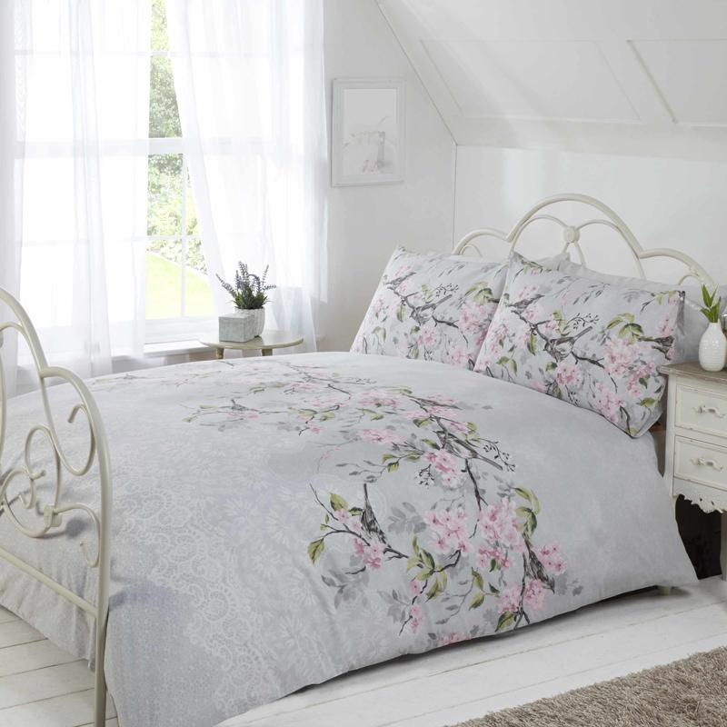 Rapport Beds Eloise Bedding Grey Picture