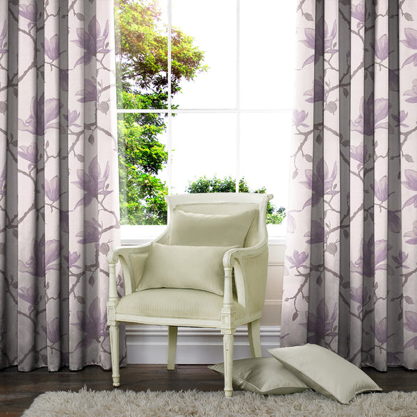 Lucia Made to Measure Curtains Lilac