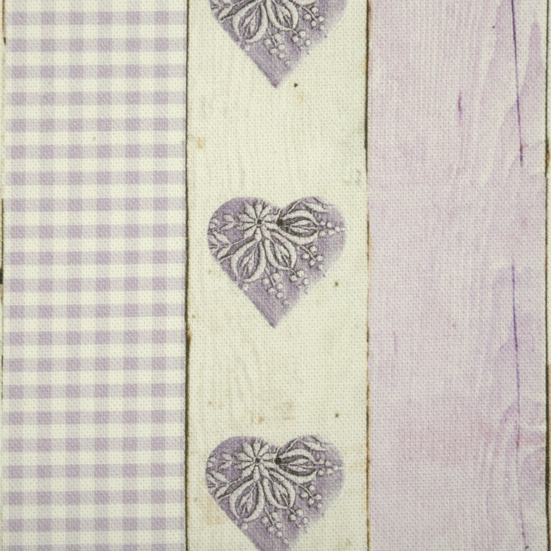 Martinique Curtain Fabric Lavender