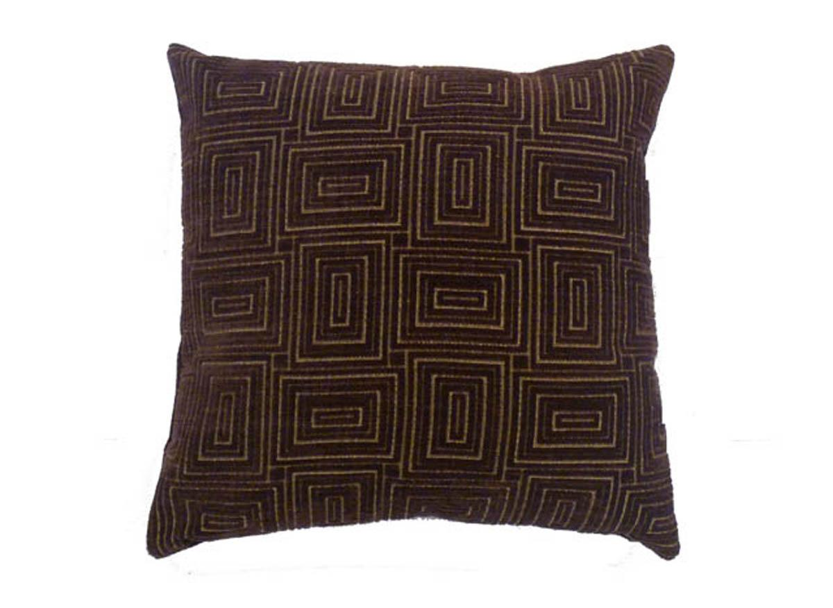 J Rosenthal Cushions And Throws Max CC 17x17 Aubergine Picture