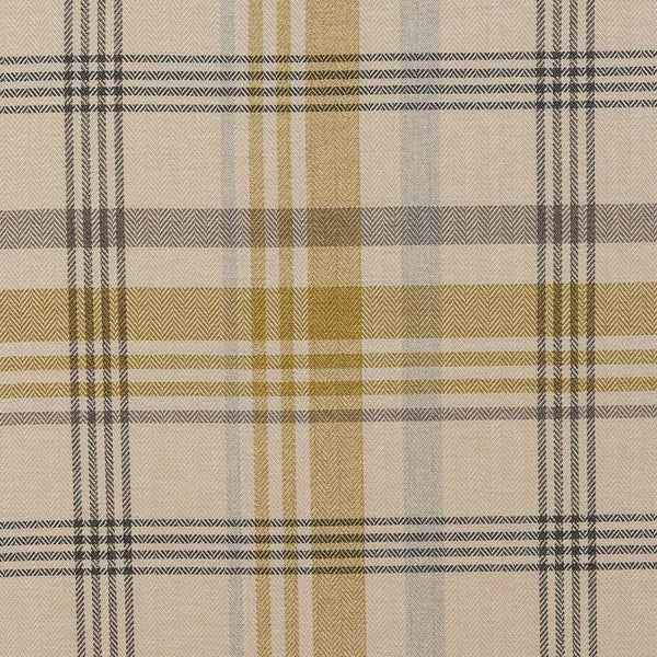 Melrose Curtain Fabric Ochre