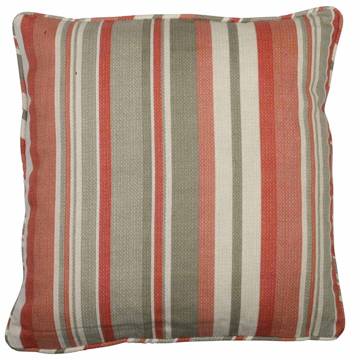 J Rosenthal Cushions And Throws Melrose Stripe C/Cover Spice Picture