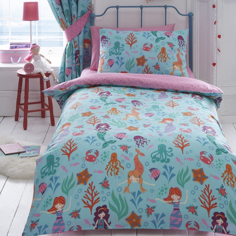 Portfolio Home Bedding  Mermaid Kids Bedding Set Multi