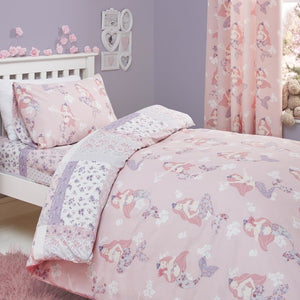 Mermaid Bedding Set Pink