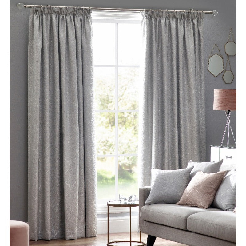 Belfields Ready Made Curtains  Metro Ready Made Lined Curtains Silver