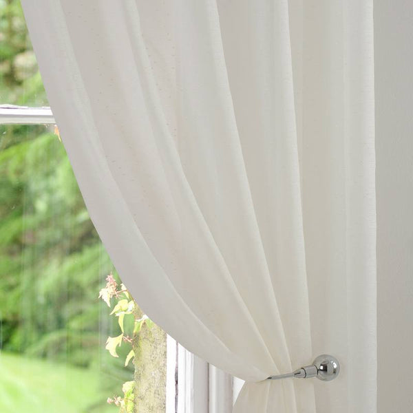 Montana Voile Curtain Panel Cream