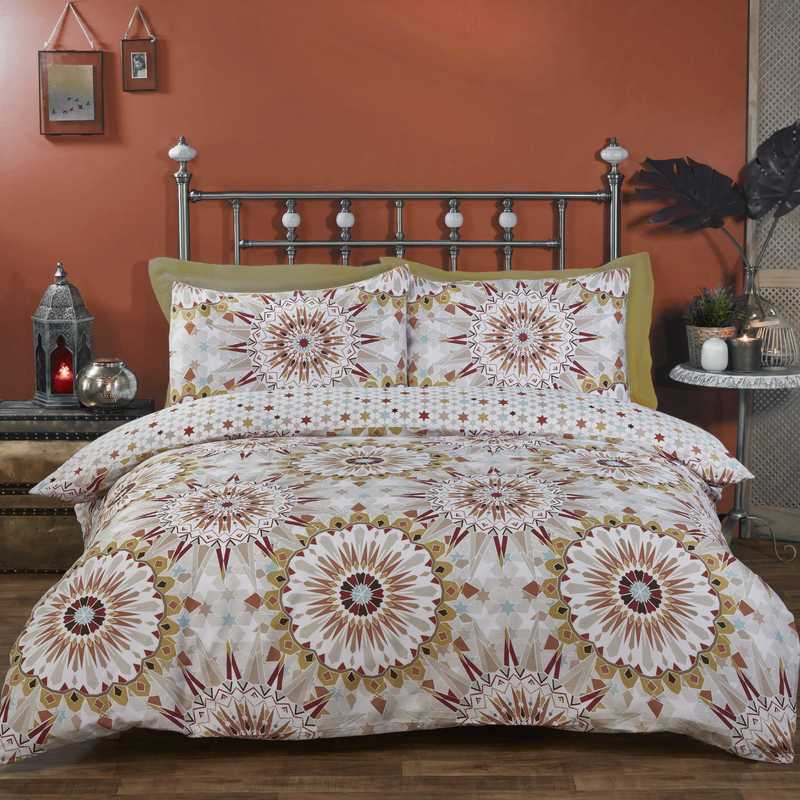 Rapport Homes Bedding Morocco Bedding Set Terracotta Picture