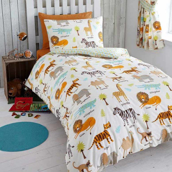 My Safari Kids Bedding Set Multi