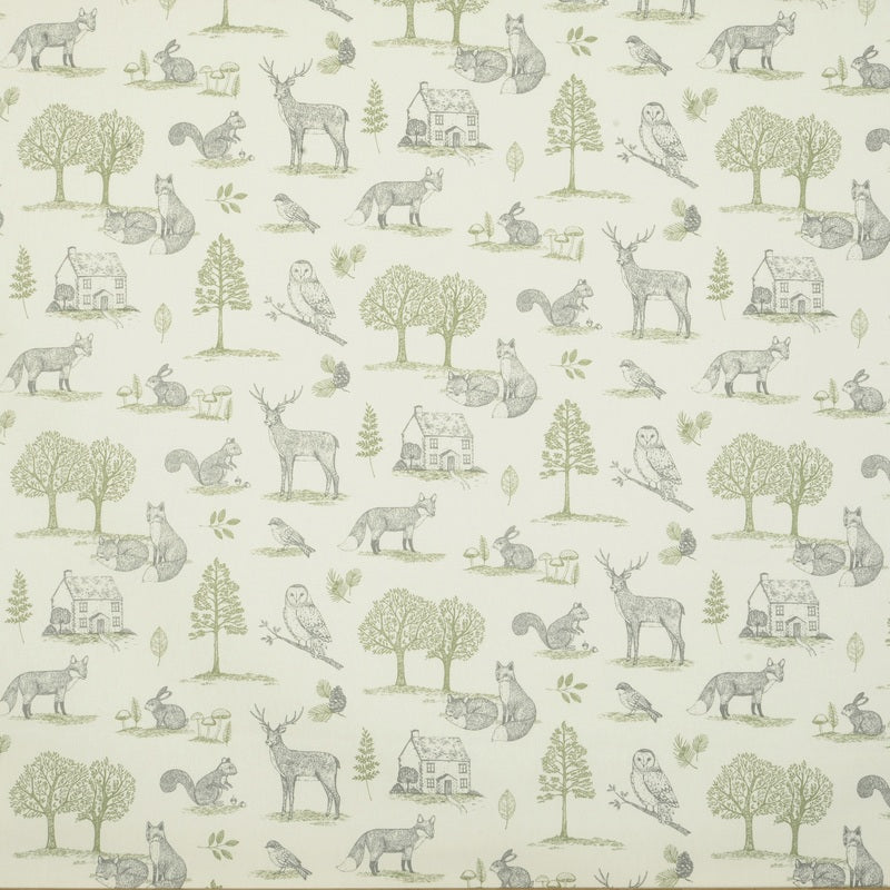 Clarke And Clarke Fabrics New Forest Curtain Fabric Natural Picture