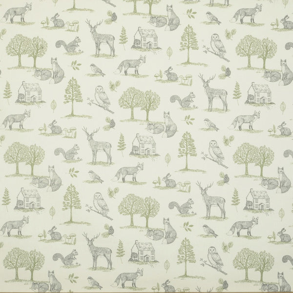 New Forest Curtain Fabric Natural