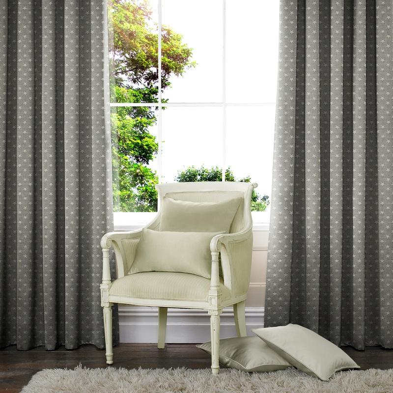 Illuminate Star Made to Measure Curtains Slate Picture