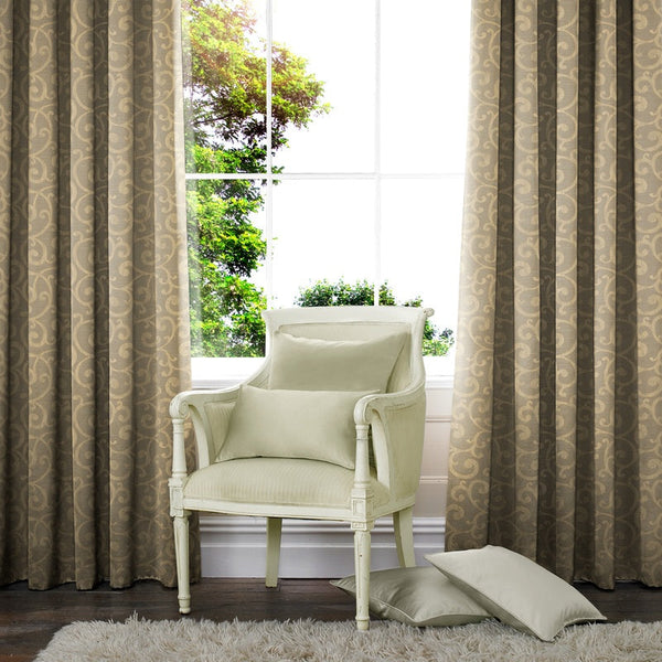 Nadia Made to Measure Curtains Gold