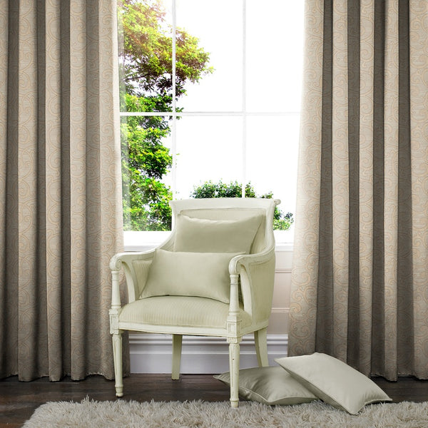 Nadia Made to Measure Curtains Linen